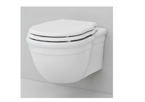 Eastbrook Fino Wall Hung Toilet Pan And Soft Close Seat